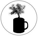 Coffee Cup Logo B&W